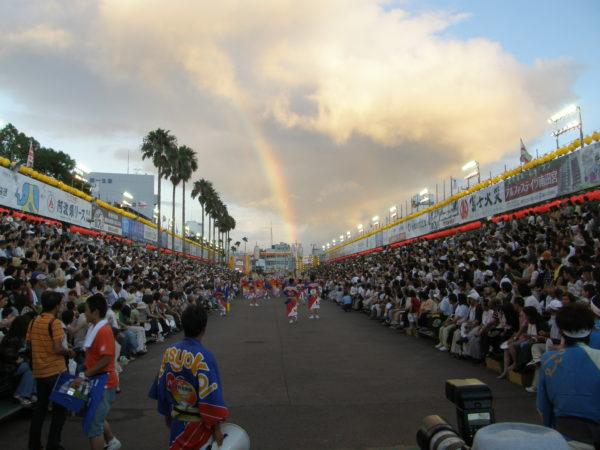 Die Hauptattraktion: Das Awa-Odori-Festival