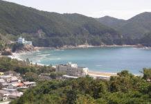 Der Strand von Hiwasa