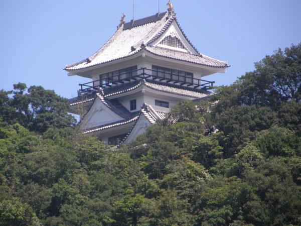 Das kleine aber feine Schloss von Hiwasa