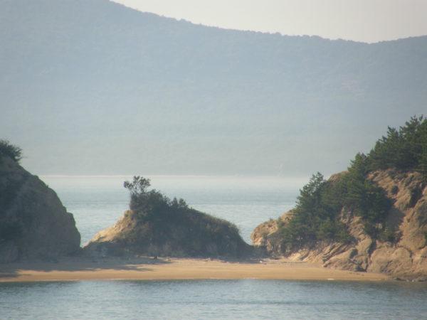 Herrenlose Insel in der Seto-Binnensee