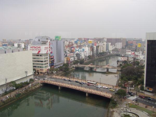 Nakasu und der Naka-gawa