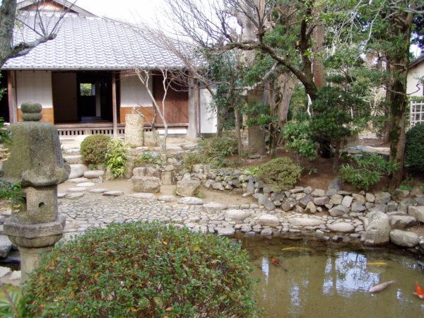 In der Katsura Tarō-residenz