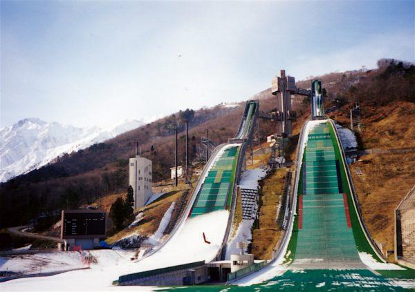 Die Olympiasprungschanzen