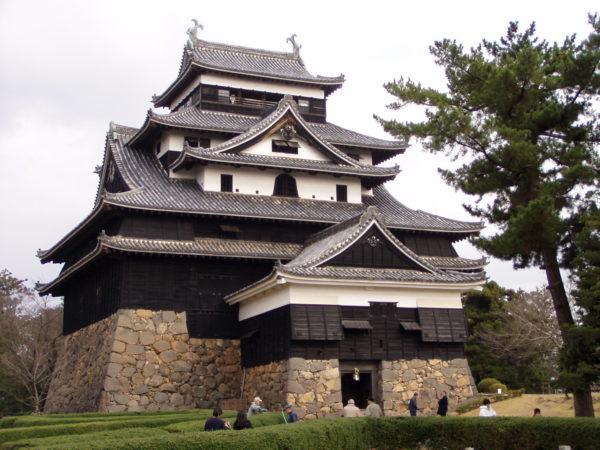 Die kleine, schmucke Burg von Matsue