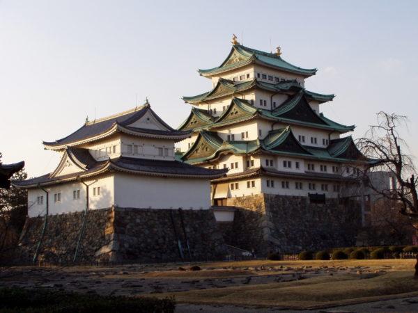 Die berühmte (wenn auch nicht originale) Burg von Nagoya