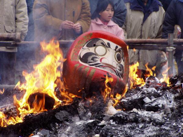 Im Hakusan-jinja zu Neujahr