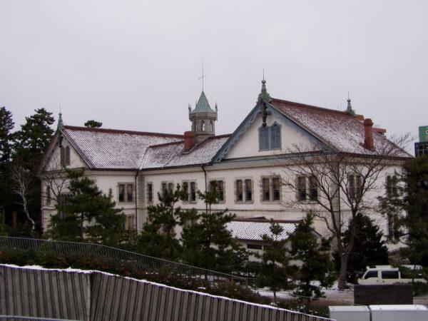 Das alte Präfekturverwaltungsgebäude