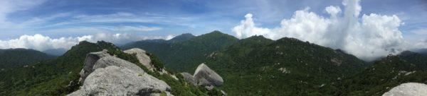 Japanische Bergwelt - hier: Yakushima