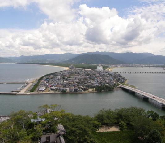Blick auf die Umgebung von Karatsu