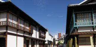 Eingang zur kleinen Enklave Dejima