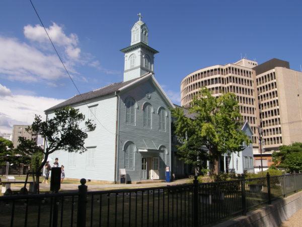 Alte Kirche auf Dejima