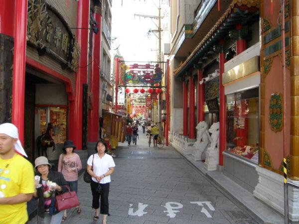 China-Town von Nagasaki