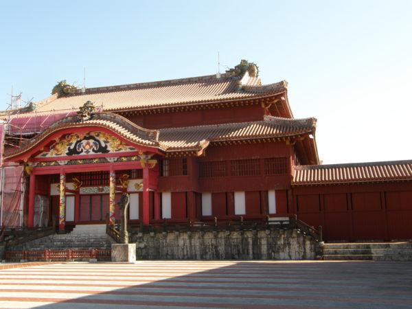 Burg Shuri - das Hauptgebäude des Palastes
