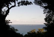 Blick auf die Insel Kudaka