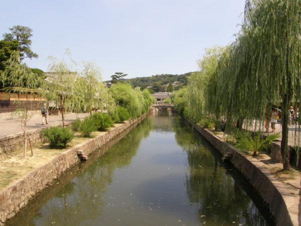 Kurashiki - einer der Kanäle im Bikan-Viertel