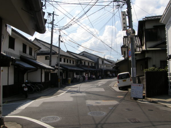 Altes Ryokan (Herberge) in Honmachi/Kurashiki