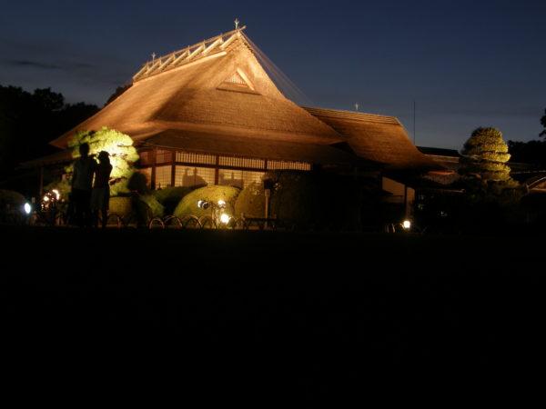 Kōrakuen bei Nacht