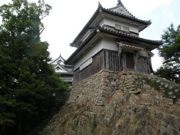 Die Burg von hinten entpuppt sich als Bürgchen