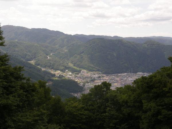 Bitchu-Takahashi: Blick auf die Stadt