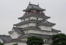 Die (restaurierte) Burg der Stadt