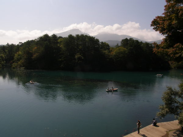 Die 5-Farben-Seen in der Bandai-Region
