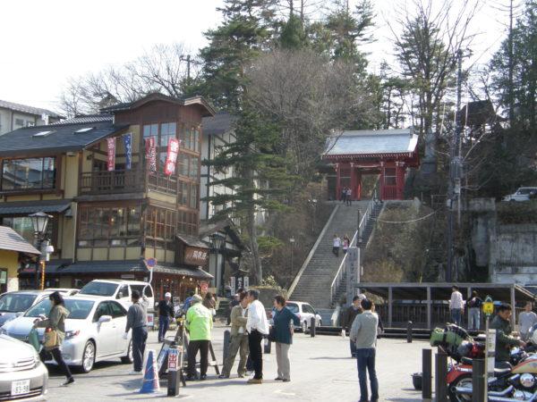 Der Kōsen-ji (Tempel) im Zentrum