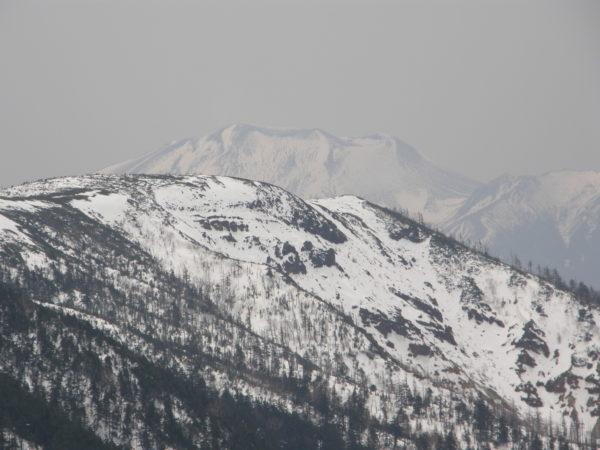 Blick vom Shirane Richtung Asama-Vulkan
