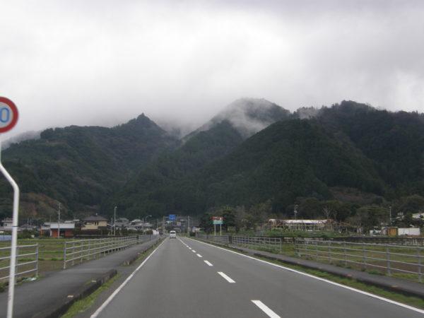 Landschaft bei Uwajima