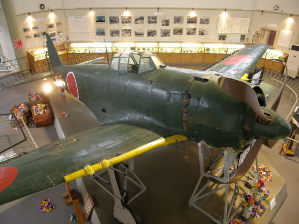 Shidenkai-Jagdflugzeug in Ehime
