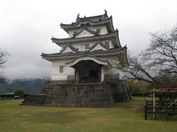 Die kleine, feine Burg von Uwajima