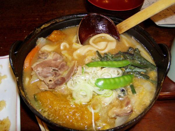 Hōtō - die Spezialität der Stadt