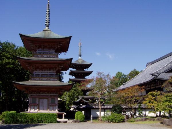 Im 長禅寺 (Chōzen-ji)-Tempel