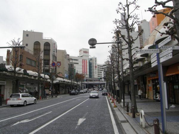 Im Stadtzentrum von Yokosuka