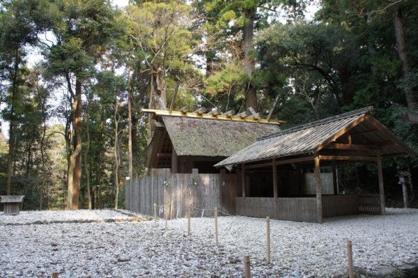 Kazahi-no-minomiya-Nebenschrein im Naikū