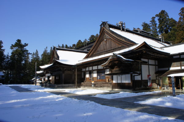 Aussenansicht des Kongōbu-ji