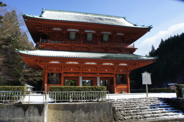 Daimon - Das grosse Tor am Eingang zum Kōyasan
