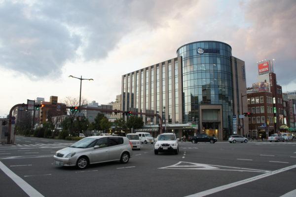 Keyaki-Blvd. im Stadtzentrum von Wakayama