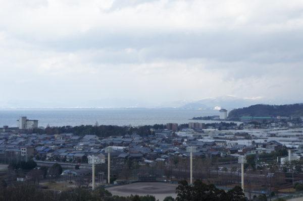 Nordteil des grossen Biwa-Sees