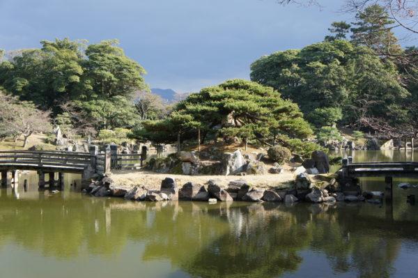 Im Genkyū-en von Hikone