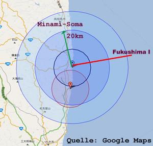 Lage von Minami-Sōma