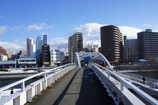 Im Zentrum - an der Kaiun-Brücke