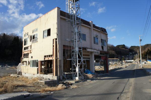 Tsunami-Schäden in Miyako (aufgenommen 2011)