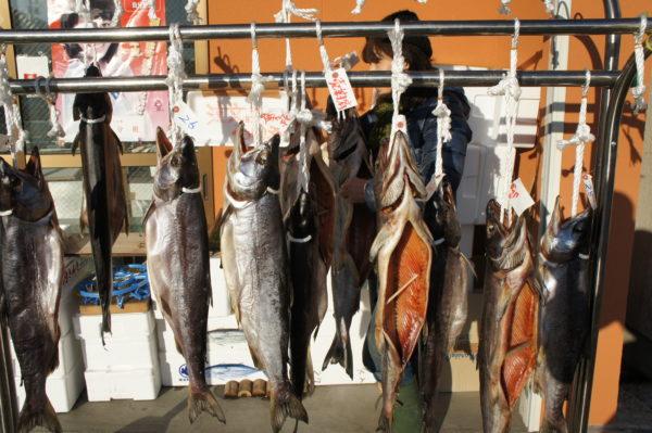 Spezialität der Region: Luftgetrockneter Lachs