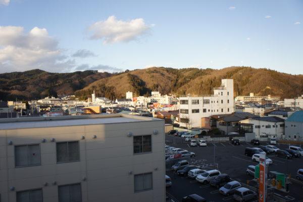 Blick über das Stadtzentrum