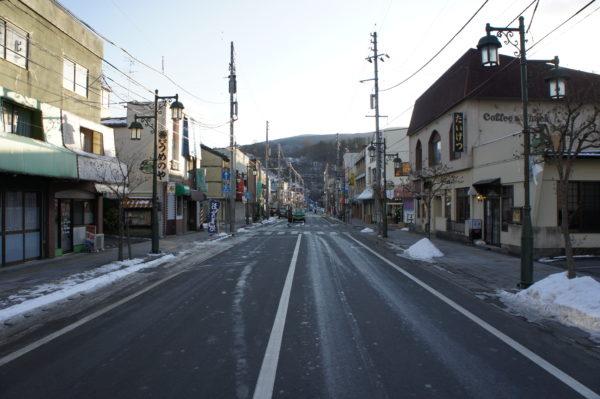 Hauptstrasse von Tōno