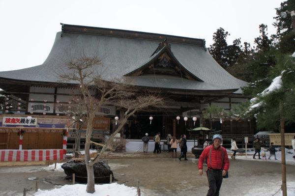 Hondō - Das Hauptgebäude im Chūsonji