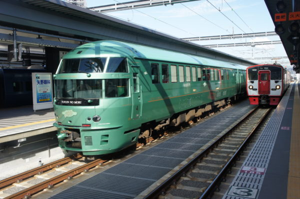 Yufuin-no-mori-Expresszug