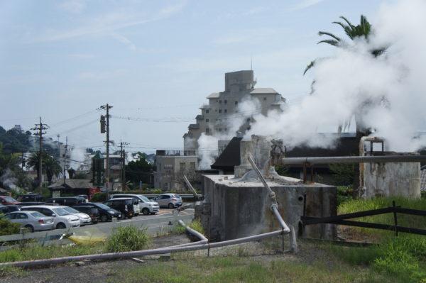 Onsen-Viertel Kannawa