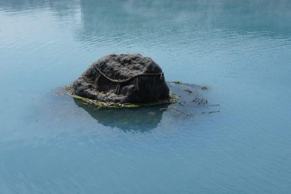 Mini-Heiligtum in einem Onsen