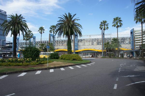 Der Hauptbahnhof von Miyazaki